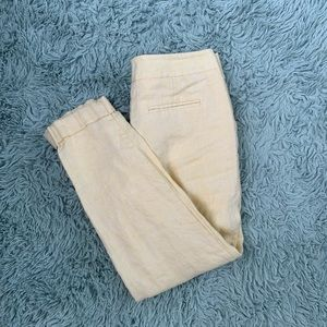 Limited Yellow linen pants